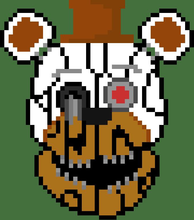 Molten Freddy - Grid Paint
